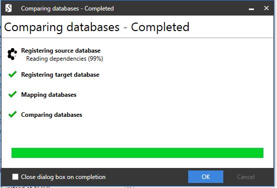 Сравнение компараторов для синхронизации схем и данных баз данных MS SQL Server - 87