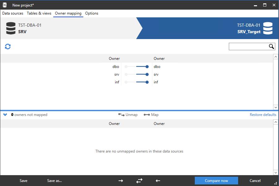 Сравнение компараторов для синхронизации схем и данных баз данных MS SQL Server - 96