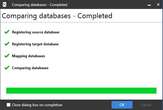 Сравнение компараторов для синхронизации схем и данных баз данных MS SQL Server - 98