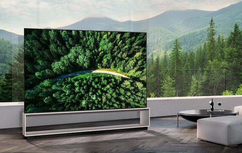 LG начала продажи монструозного 88-дюймового телевизора с панелью OLED разрешением 8K