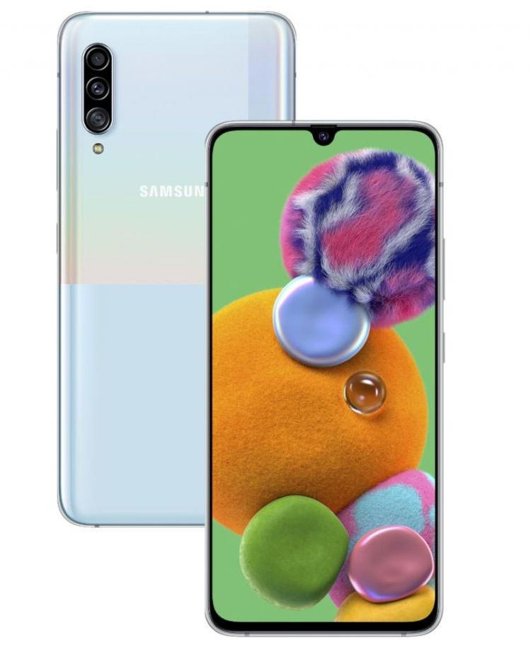 Дебют Samsung Galaxy A90 5G: смартфон с экраном Super AMOLED Infinity-U за 0