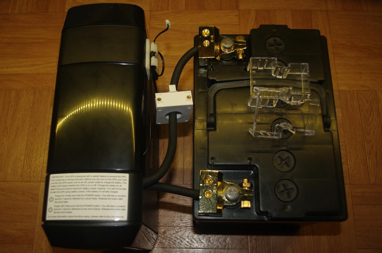 Как подключить стартерную АКБ к ИБП - 21