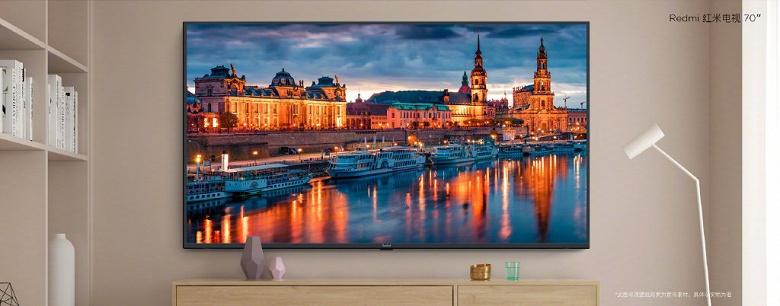 Спрос на Redmi TV оказался очень большим. Redmi TV должен увеличить вдвое рынок 70-дюймовых телевизоров