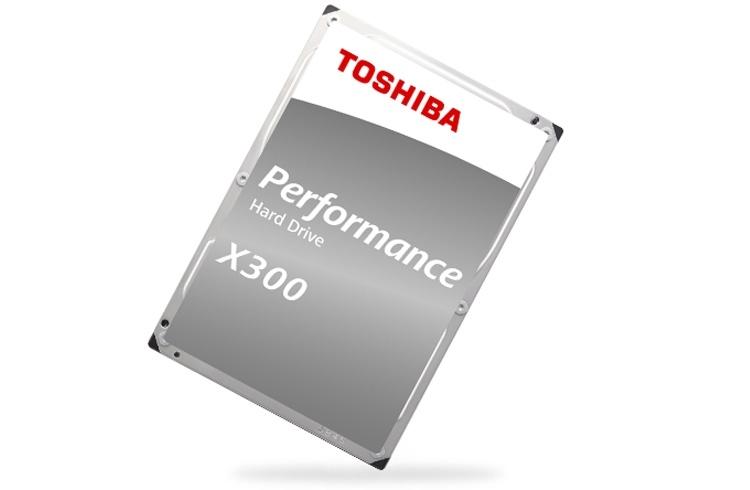 Теперь и 16 Тбайт: представлен новый диск Toshiba X300 для ПК