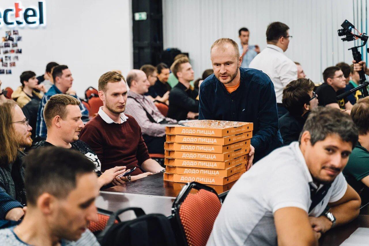 День Техдира в Санкт-Петербурге. Пиво, пицца, два микрофона - 20