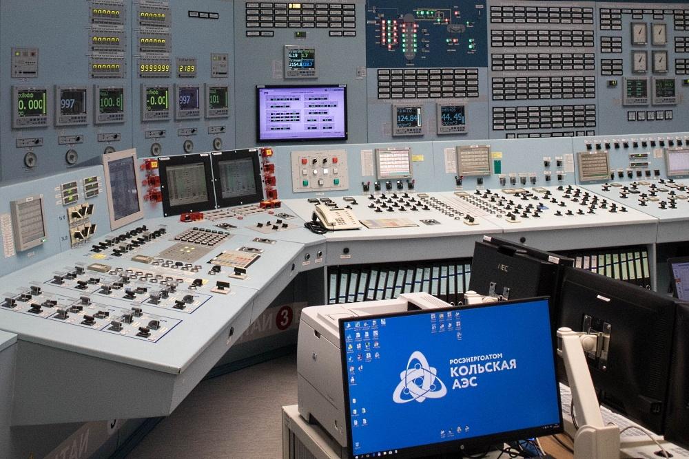 Кольская АЭС или стоя на реакторе - 1