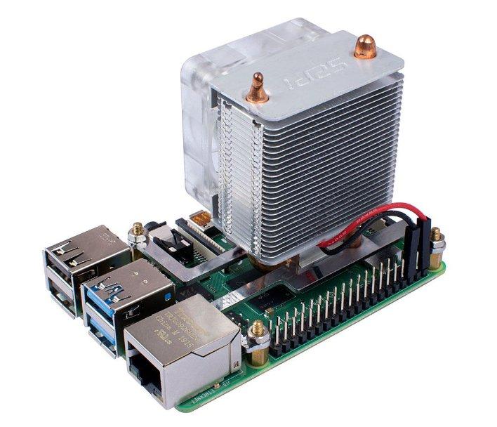 Разноцветный башенный кулер для Raspberry Pi способен снизить температуру сразу на 40° - 2