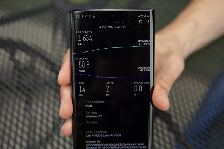 Реальные испытания Samsung Galaxy Note 10+ 5G: невероятная скорость передачи данных и ужасная автономность
