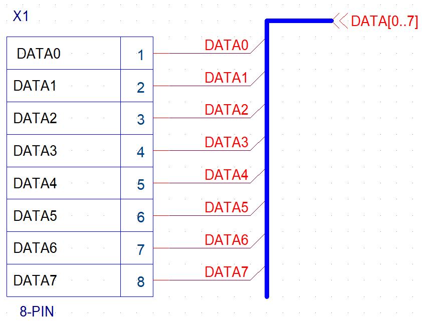Создание в OrCAD символа разъема с «динамическим» текстом - 3