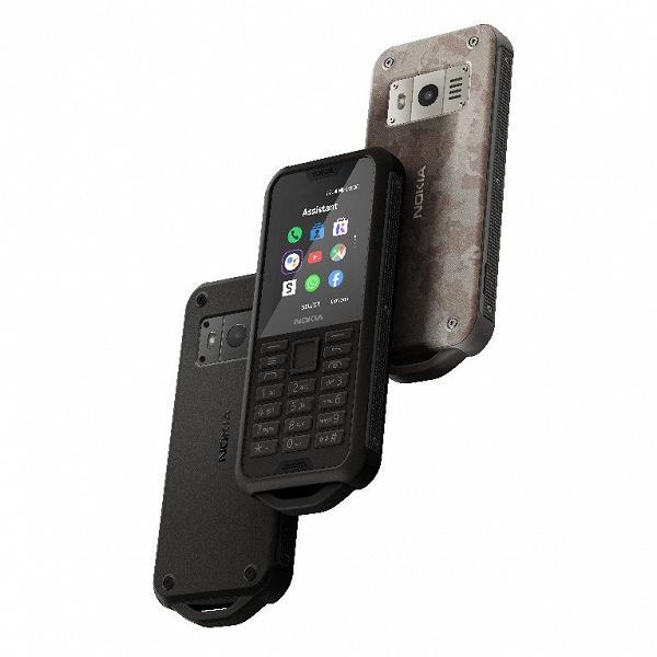 Экстремальная Nokia. Представлен противоударный кнопочный телефон Nokia 800 Tough