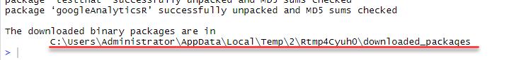 Как в Microsoft SQL Server получать данные из Google Analytics при помощи R - 13