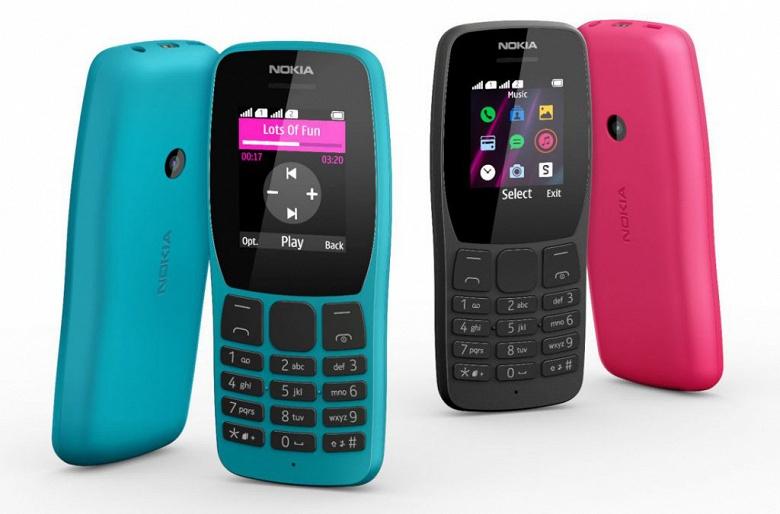 Просто, ярко, доступно. Телефон Nokia 110 предназначен для самых экономных