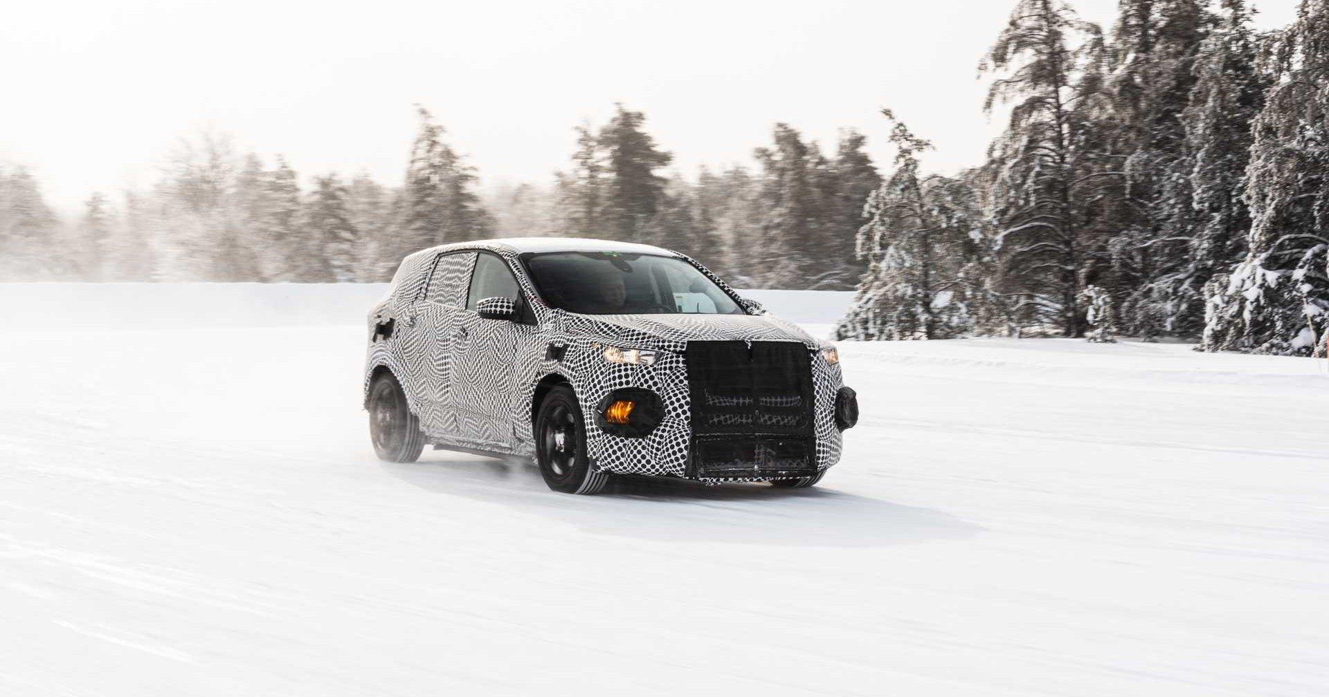 Ford показал электрокроссовер в стиле «Мустанга»