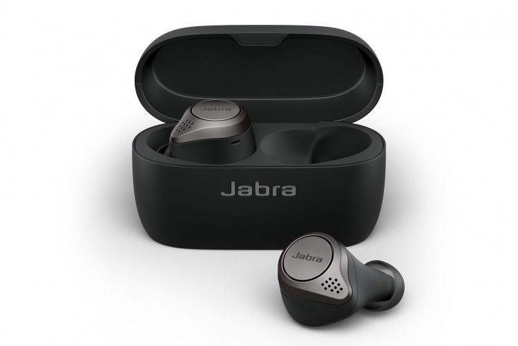IFA 2019: компактные беспроводные наушники Jabra Elite 75t обеспечат до 28 часов работы в автономном режиме