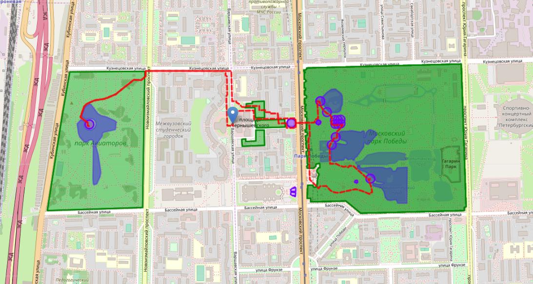 Гуляем по городу с умом — 2: ходим по городу кругами с помощью генетического алгоритма - 6