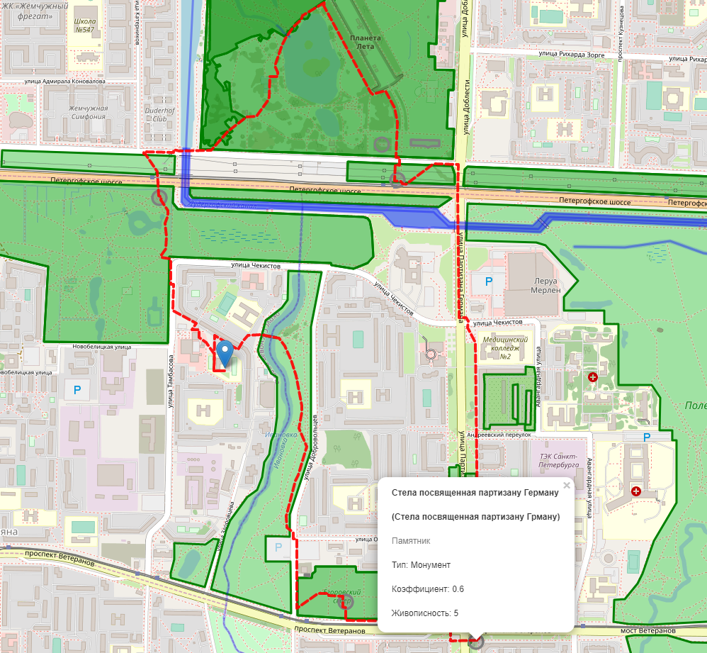 Гуляем по городу с умом — 2: ходим по городу кругами с помощью генетического алгоритма - 9