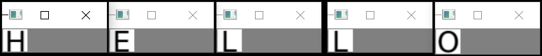 Python + OpenCV + Keras: делаем распознавалку текста за полчаса - 3