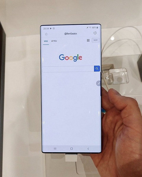 Фото дня: авторитетный инсайдер показал Samsung Galaxy Note12+