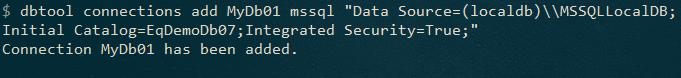 Использование DbTool для засеивания (seeding) баз данных в приложениях .NET (Core) - 2