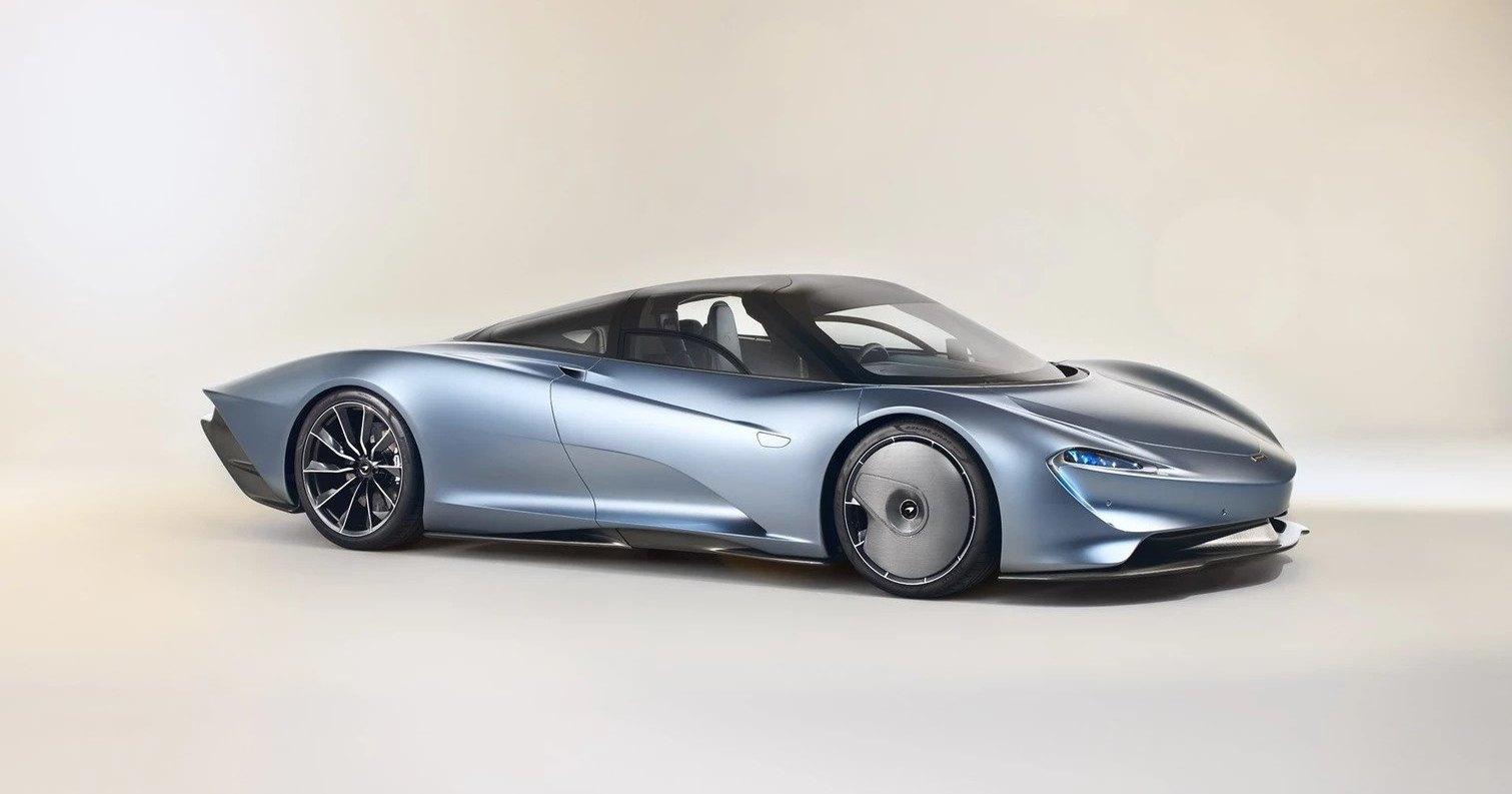 Копия McLaren Speedtail из более чем тысячи деталей