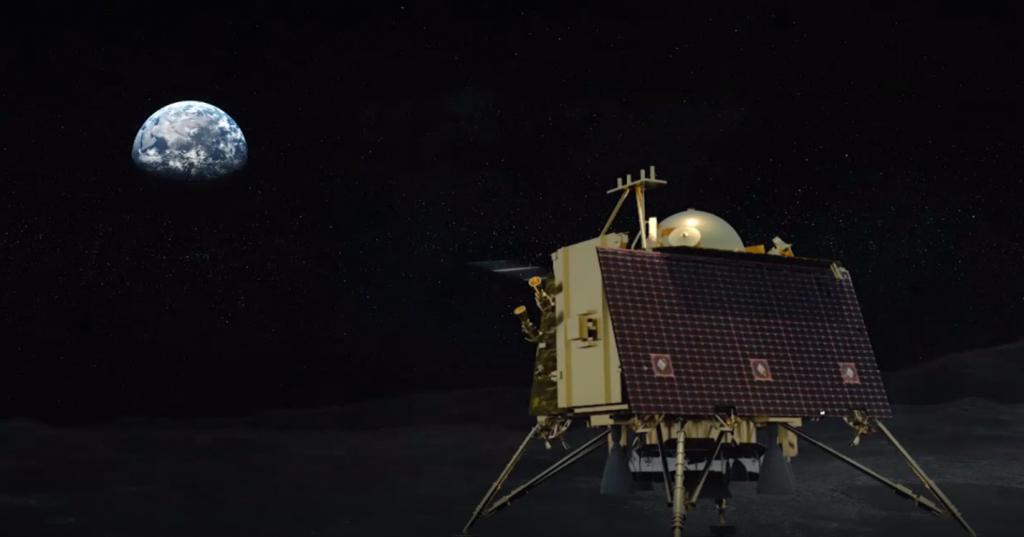 Трансляция: посадка индийского спускаемого аппарата «Викрам» на Луну