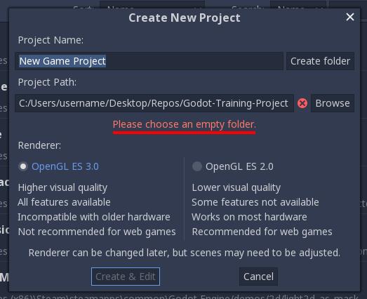 Учебные проекты на Godot — Pong (часть 1) Создание и настройка сцены игрового процесса - 5