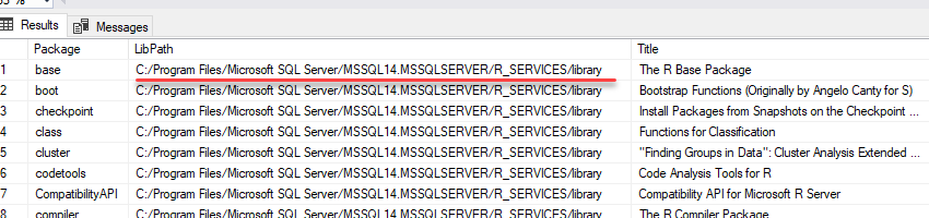 How to receive data from Google Analytics using R in Microsoft SQL Server - 7