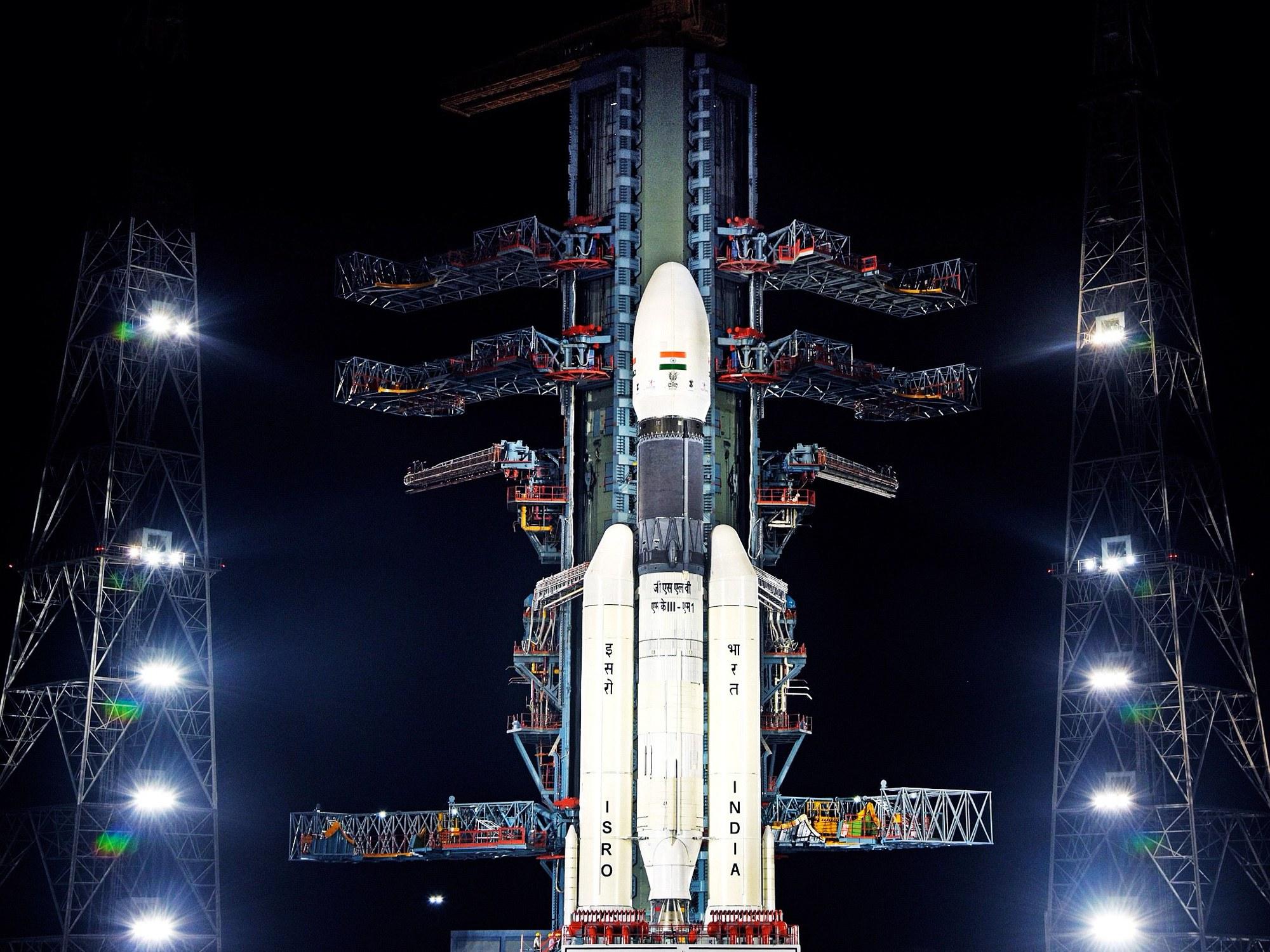 Индии не удалось посадить «Викрам» на поверхность Луны - 1