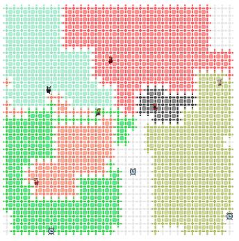 История второго места в Mini AI Cup 4: Paper IO - 1