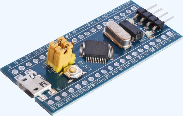 Простые эксперименты с микроконтроллером STM32F103 («Голубая таблетка») - 1