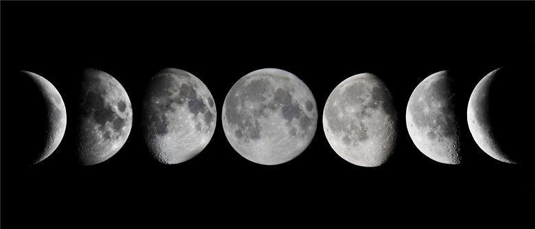 Вспышка Huawei Mate 30 оформлена в стиле Луны