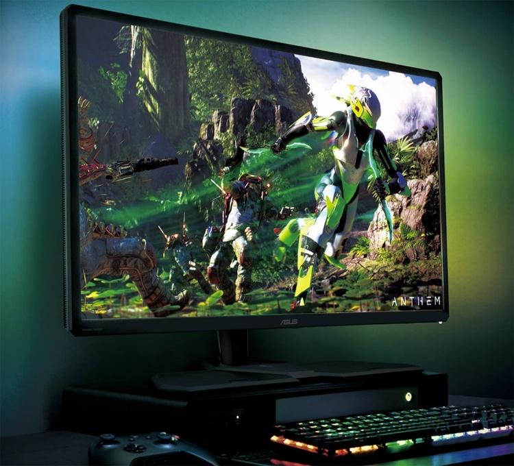 ASUS CG32UQ: монитор для игровых консолей