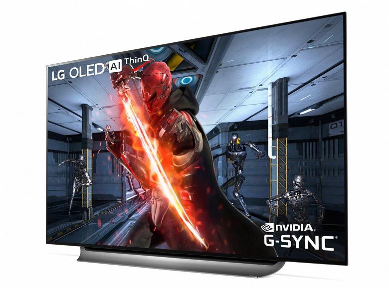 LG представила игровые телевизоры OLED с поддержкой Nvidia G-Sync