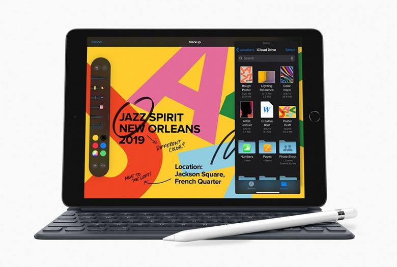 Экран стал больше. Apple представила iPad седьмого поколения