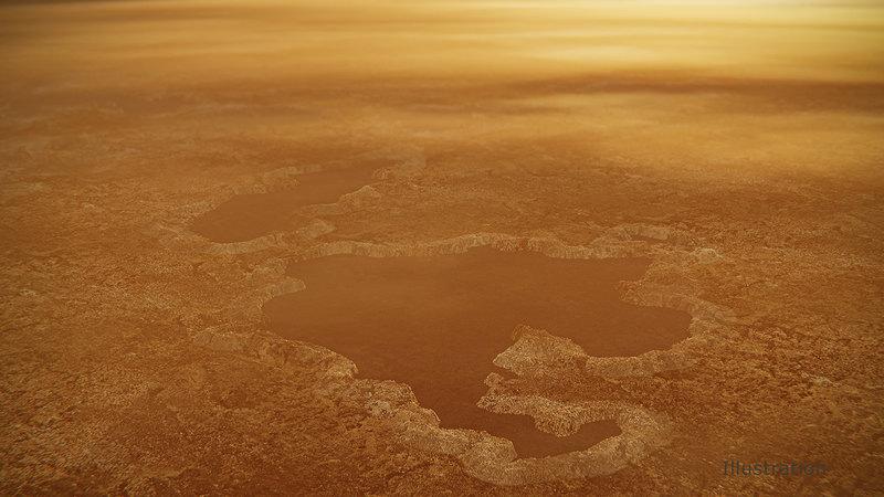 Необычные озера на Титане могут быть кратерами от взрывов