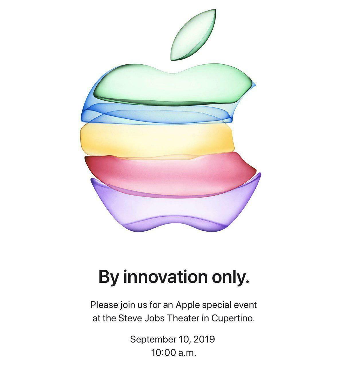 Текстовая трансляция Apple — 10 сентября 2019 года - 1