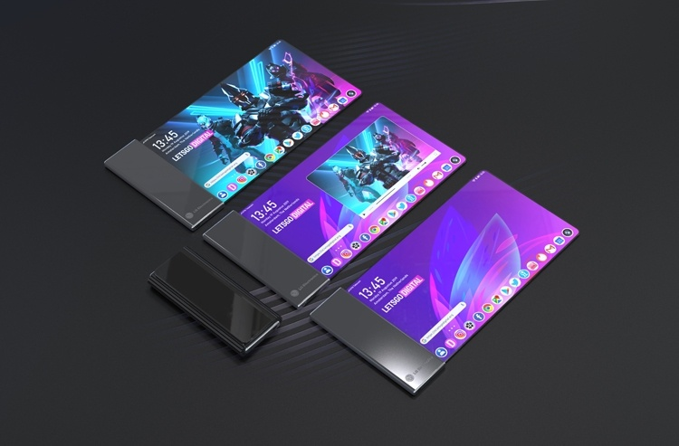 LG проектирует смартфон с огромным гибким экраном