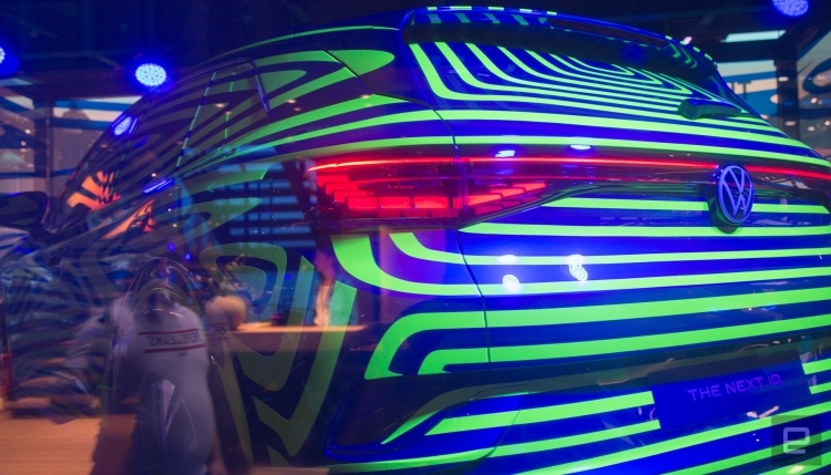 Volkswagen показала новый электрокар на базе ID Crozz