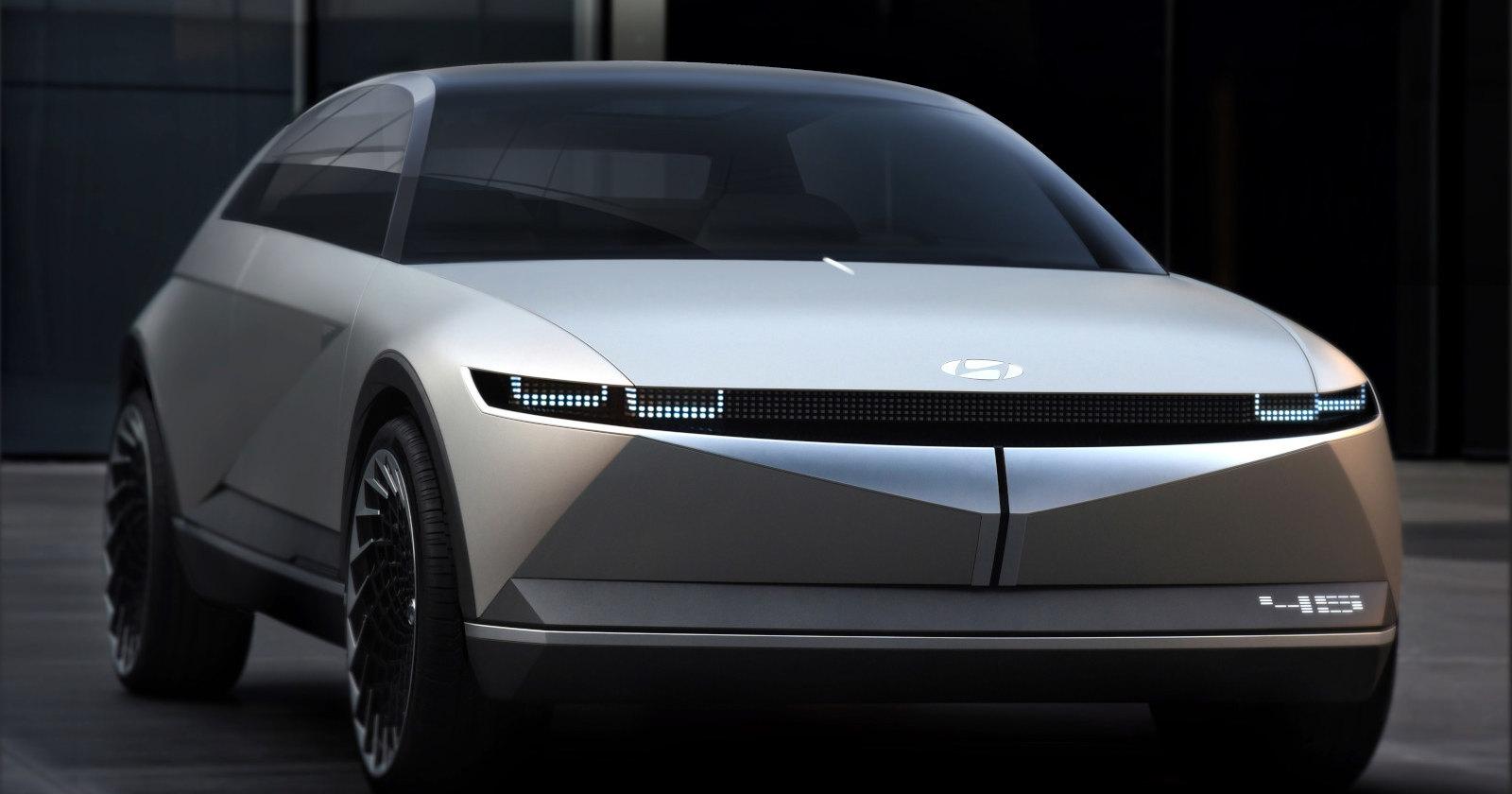 Футуристичный концепт Hyundai, напоминающий о модели 1974 года