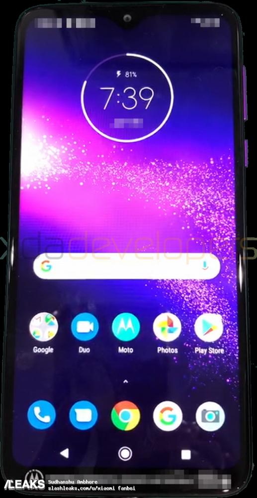 Первое фото и результаты тестирования Motorola One Macro