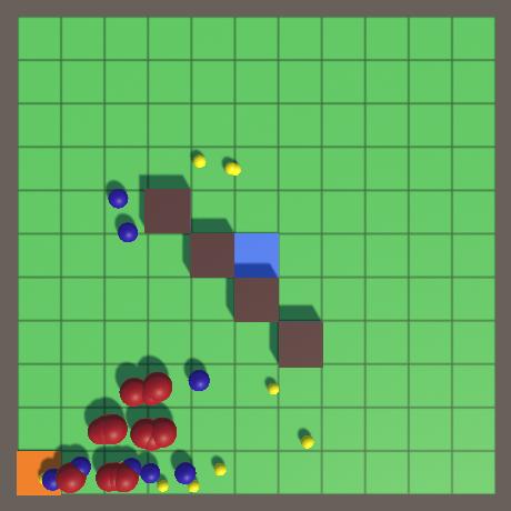 Создание игры Tower Defense в Unity: сценарии и волны врагов - 4