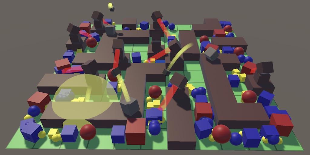 Создание игры Tower Defense в Unity: сценарии и волны врагов - 1