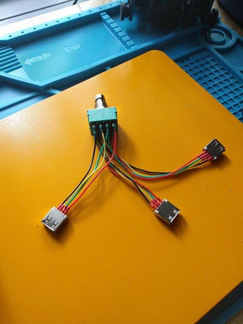 USB-педаль для переключения между компьютерами - 12