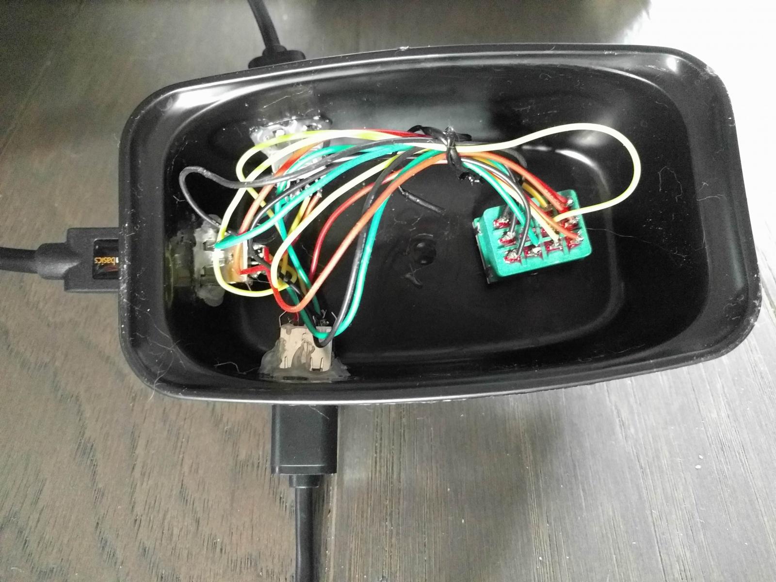 USB-педаль для переключения между компьютерами - 9