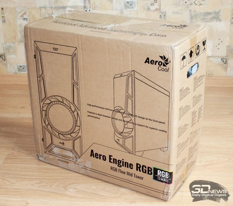 Новая статья: Обзор и тест корпуса AeroCool AeroEngine RGB: светодиодный форсаж