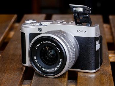 Представлена беззеркальная камера Fujifilm X-A7