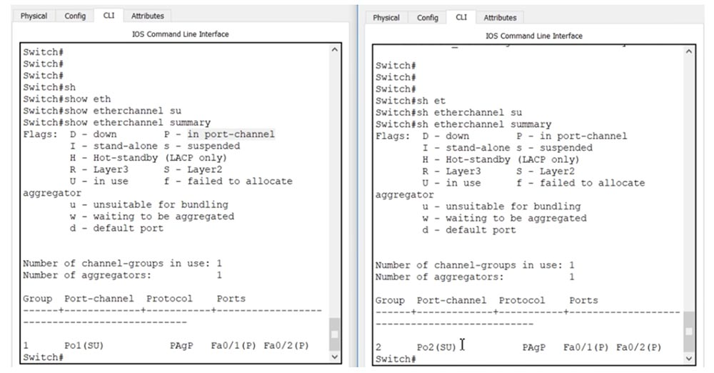 Тренинг Cisco 200-125 CCNA v3.0. День 38. Протокол EtherChannel для 2 уровня OSI - 17