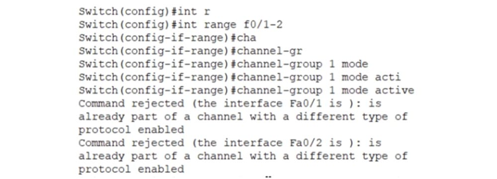 Тренинг Cisco 200-125 CCNA v3.0. День 38. Протокол EtherChannel для 2 уровня OSI - 20