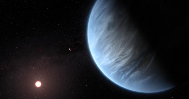 Открыта потенциально обитаемая экзопланета с водяным паром в атмосфере