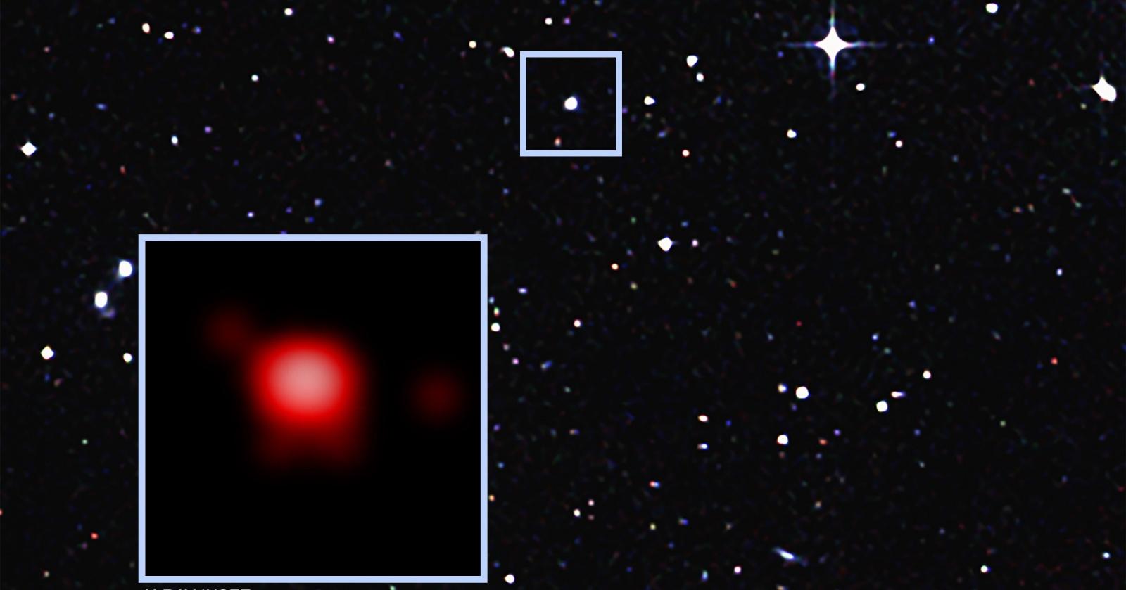 Астрономы детектировали странное поведение далекой черной дыры
